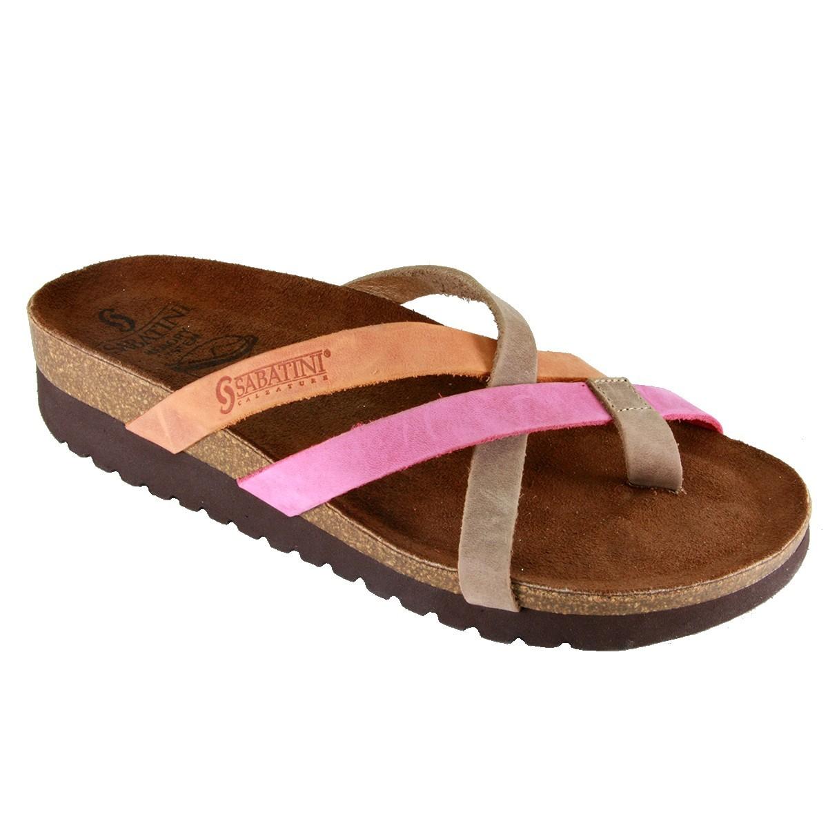 Sabatini 4101 Multicolor - Calzatura comoda e pratica - Vera pelle