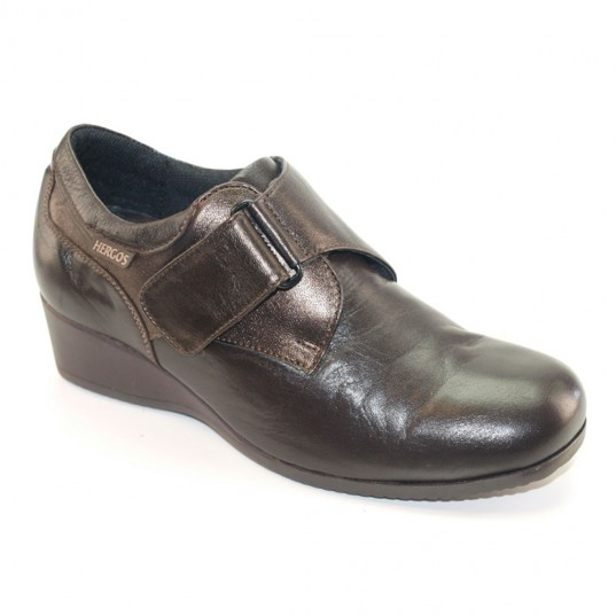 H 9001 Testa di Moro Laminato - Scarpa comoda ed elegante - Vera pelle